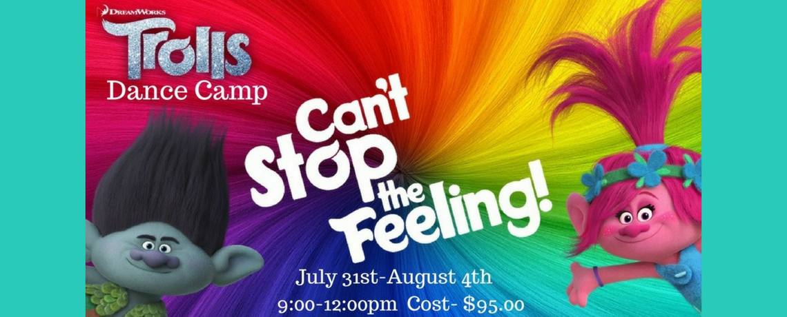 Trolls Dance Camp